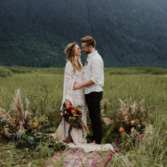 Pitt Meadows Bohemian Wedding Inspiration