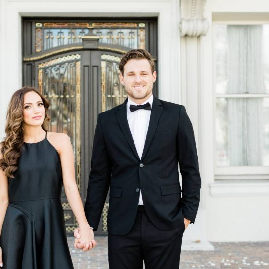 A Luxury Parisian Inspired Engagement Session
