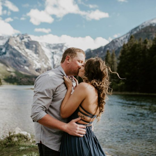 Spring Mountain Engagement Session