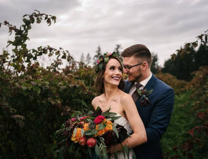Harvest Inspired Elopement