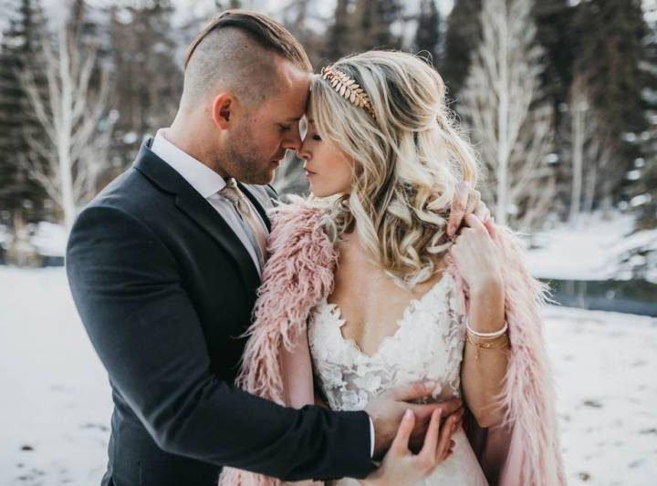 Modern Rustic Winter Wedding Inspiration