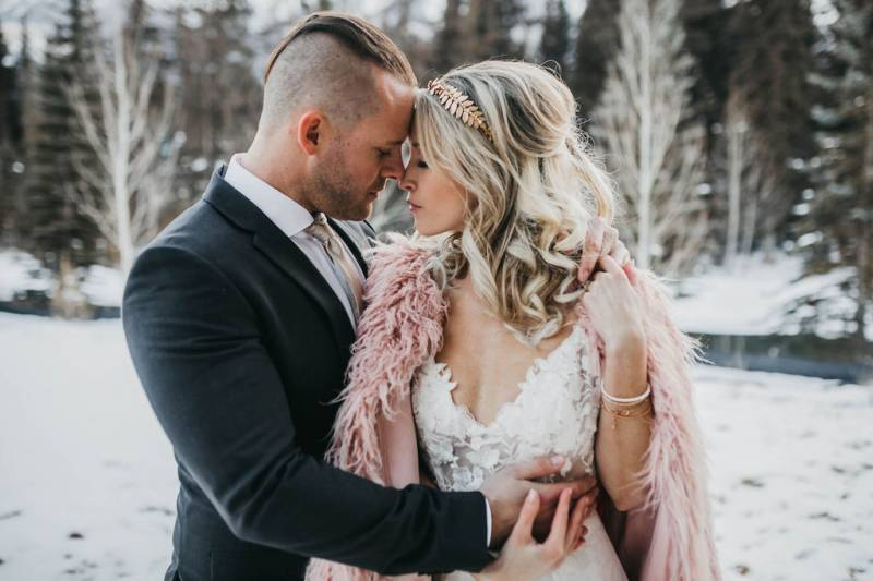 Modern Rustic Winter Wedding Inspiration