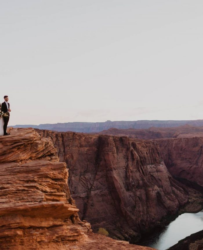 Sunset Elopement Inspiration at Horseshoe Bend