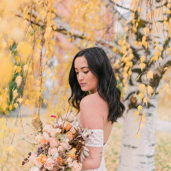 Autumn Bridals in Montana