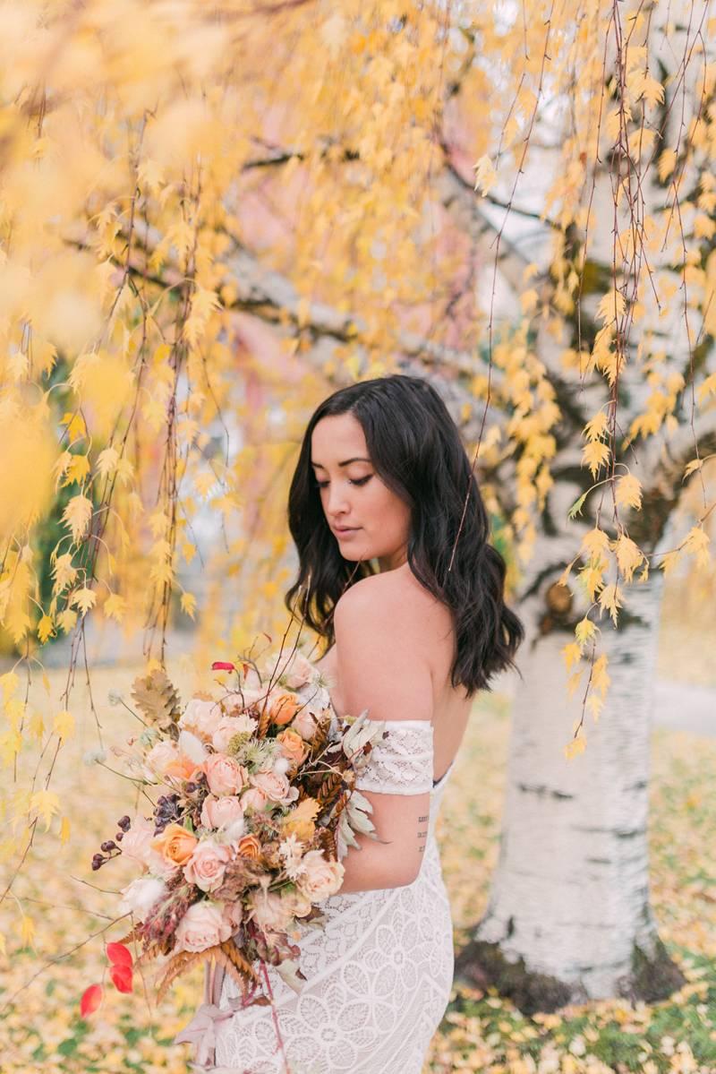 Autumn Bridals in Montana