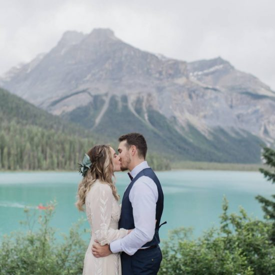 Emerald Lake Lodge Elopement