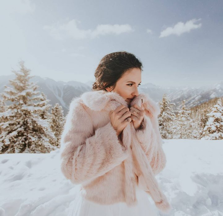 Winter Wedding Inspiration at Banff Gondola