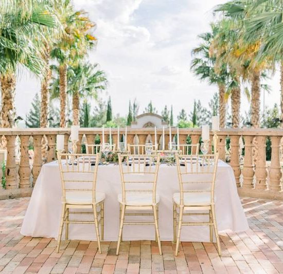 Chic Blush and Gold Wedding Inspiration at Hotel Encanto