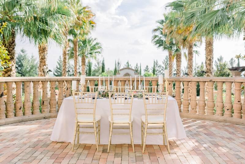 Chic Blush and Gold Wedding Inspiration at Hotel Encanto
