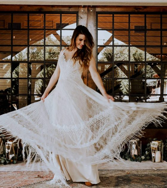 Discover the Newest Bohemian Wedding Gown Collection: All Who Wander