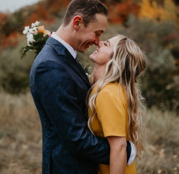 Alberta Real Wedding: She Wore a Yellow Wedding Dress