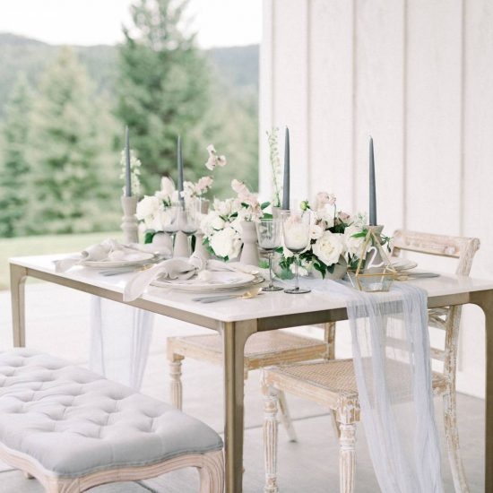 Rustic Elegance Wedding Inspiration at The Woodlands