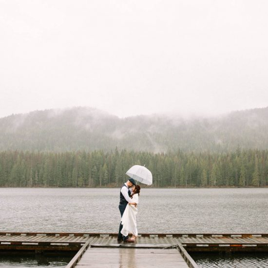 Rainy Day Elopement at Forty-One South