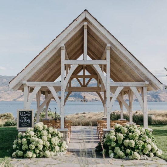 Dusty Blue Okanagan Valley Wedding Inspiration
