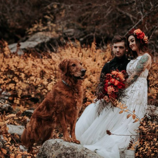 Romantic and Edgy Elopement Inspiration