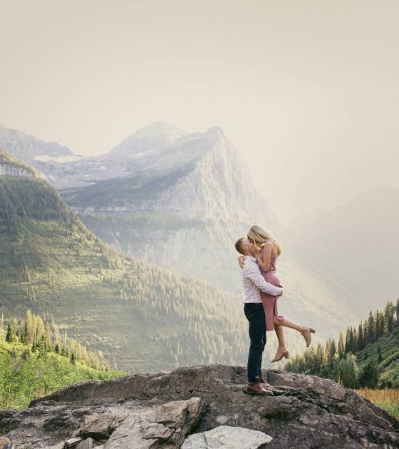 A Photographer's Guide to the Top Engagement Spots | Glacier Park, Montana