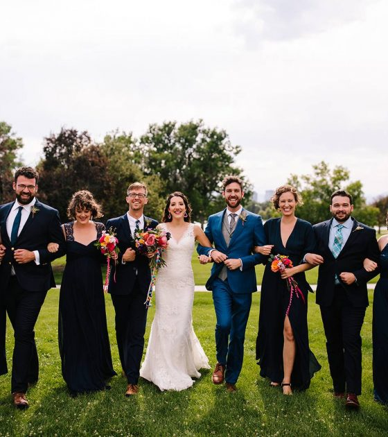 Rooftop Wedding at the Denver Museum of Nature and Science