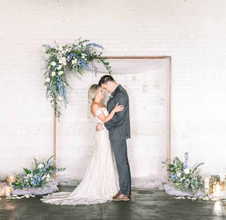 Chic Wedding Inspiration in Denver's Art District