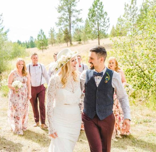 Bright and Beautiful Bohemian Wedding at Whispering Pines