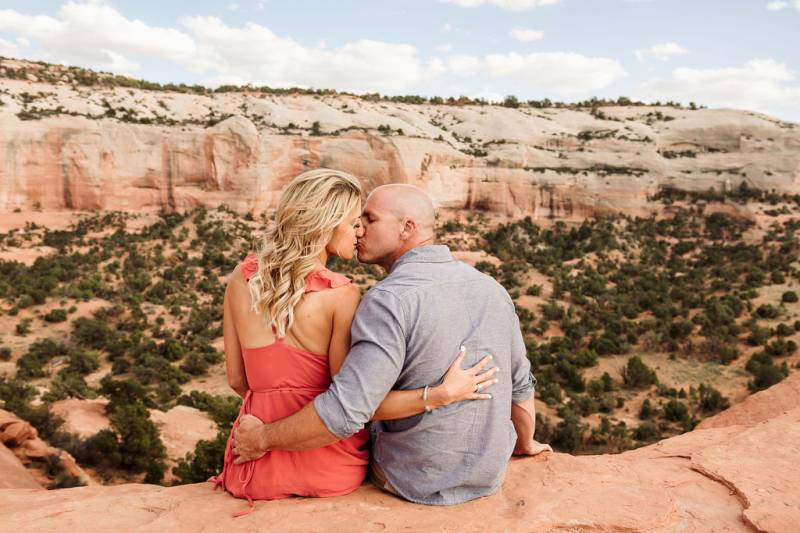 Arches Engagement Session in Moab, Utah
