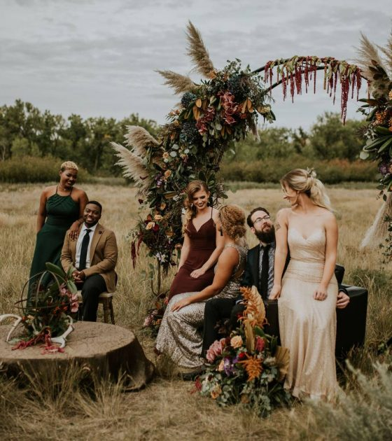 Luxe Dinner Party in the Southern Alberta Coulees