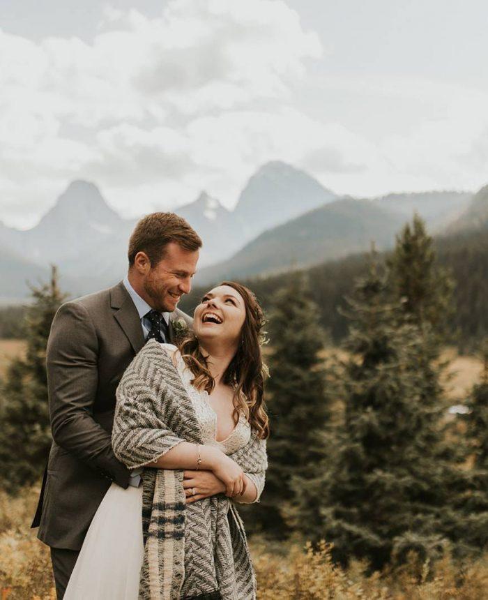 Intimate Cabin Wedding at Lower Kananaskis Lake