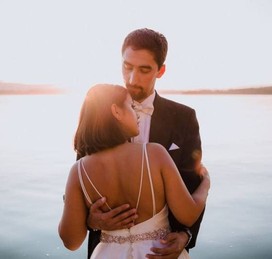 Canadian and Persian Fusion Wedding Ceremony
