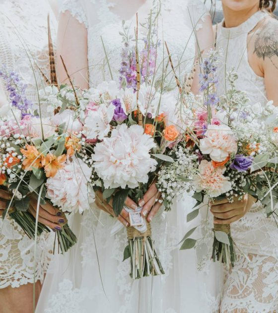 Eclectic Wedding at Willow Creek Cabin