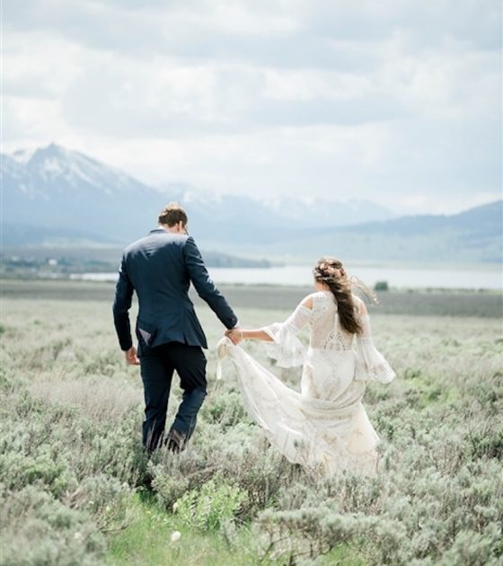 West Yellowstone Wedding Portraits