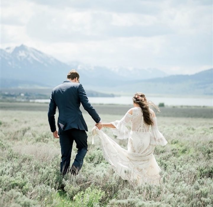 West Yellowstone Wedding Portraits