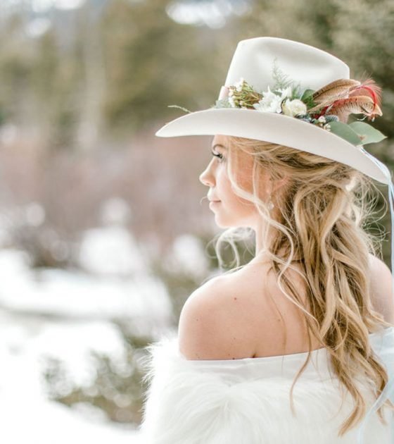 Snowy Montana Engagement Session