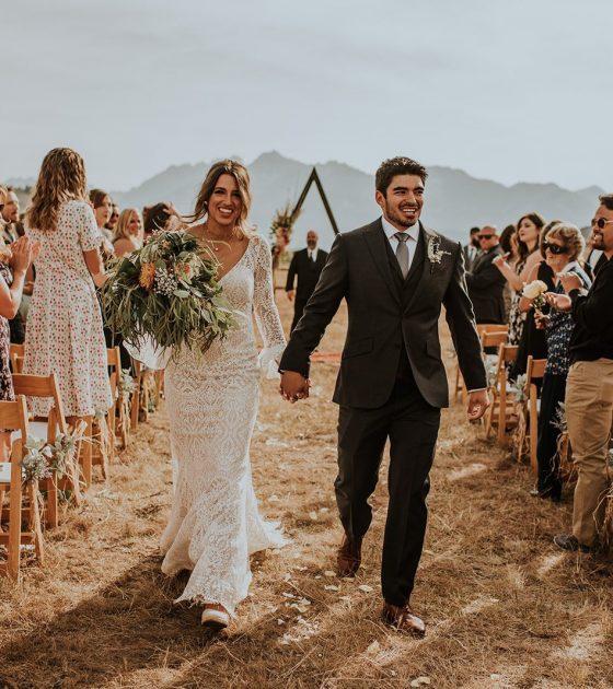 Boho Sawtooth Summer Wedding