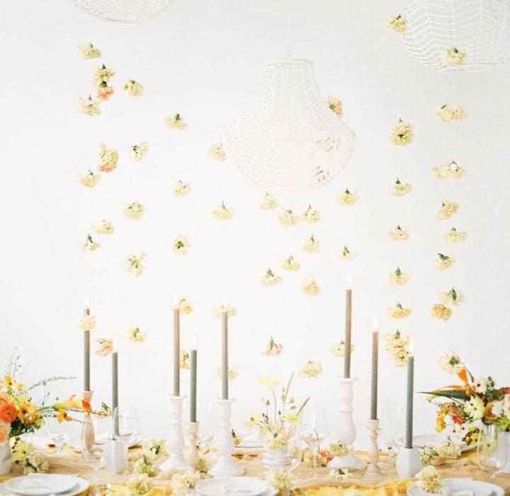 Classic and Romantic Yellow Wedding Inspiration