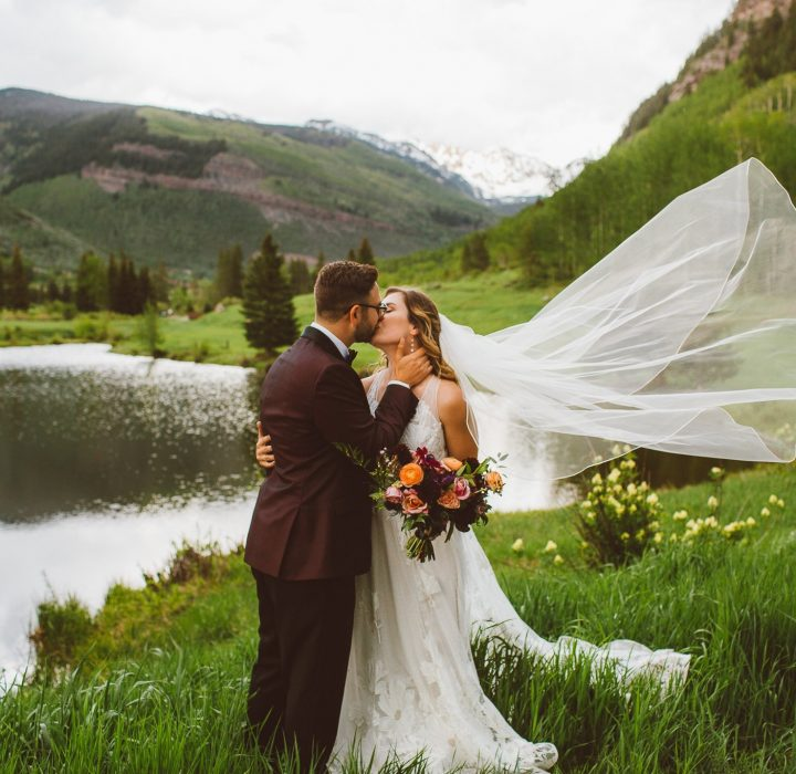 Colorful and Sweet Spring Wedding at Vail Golf and Nordic Clubhouse