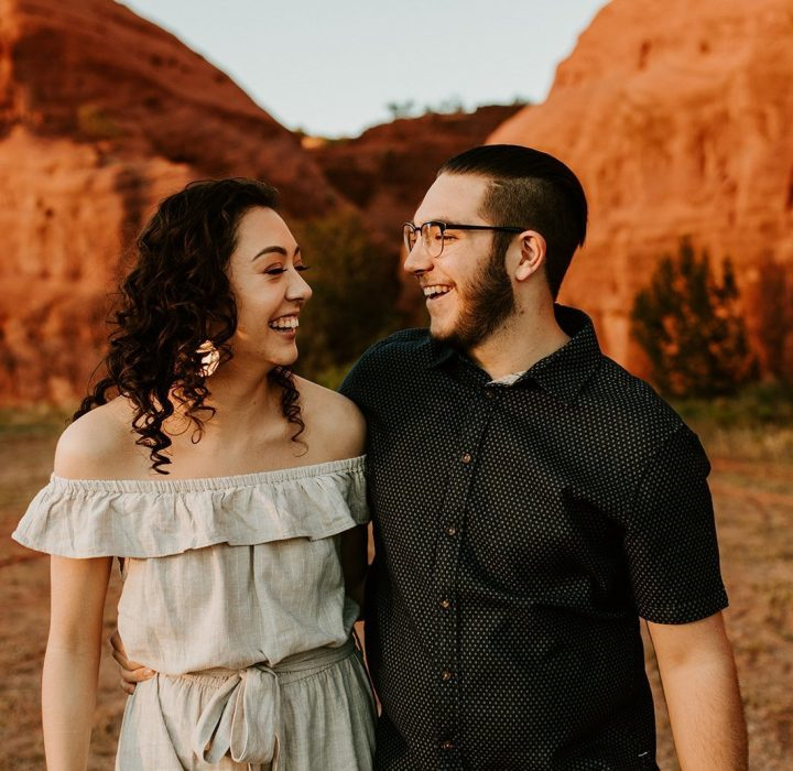 New Mexico Engagements at the Red Rocks in the Jemez Pueblo