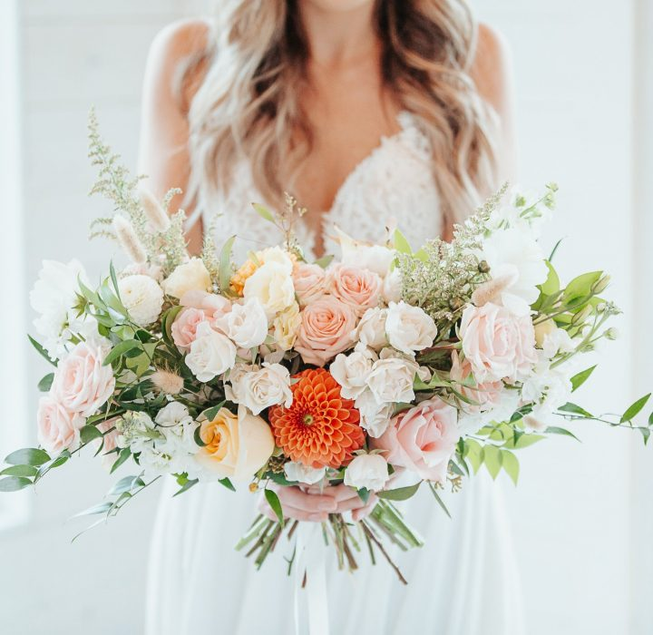 Spring-Inspired Bridal Editorial at the Sanctuary Gardens
