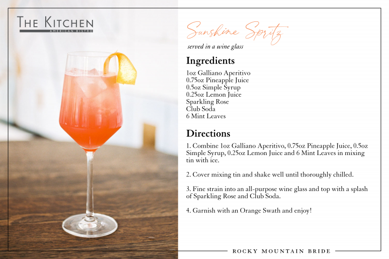 Sunshine Spritz Cocktail Recipe
