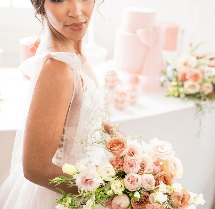 Bright and Romantic White Shanty Wedding Inspiration
