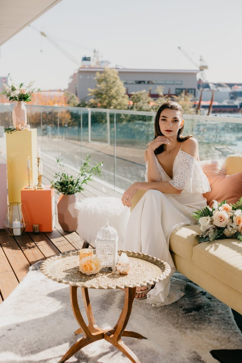 Industrial Bohemian Wedding Inspiration