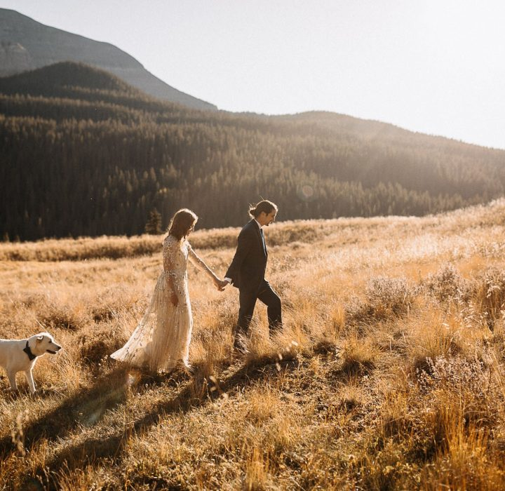 Sweet, Private Telluride Elopement