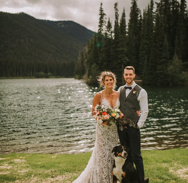 Relaxed Manning Park Summer Wedding