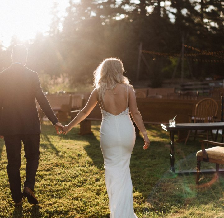 Charming and Rustic I Do's at High Country Tree Farm