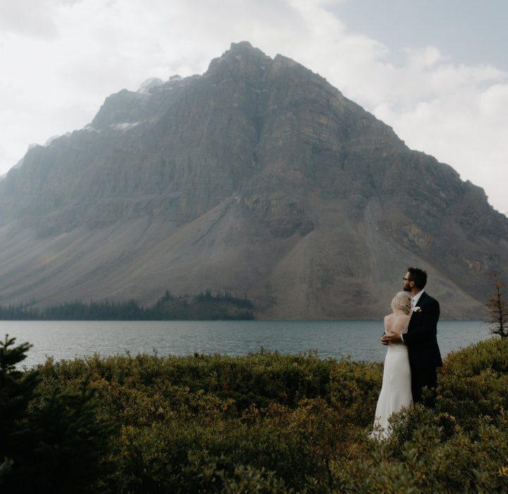Intimate Banff Sunrise Wedding