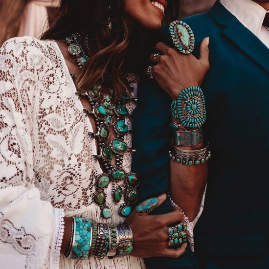 Turquoise Dreams Elopement Inspiration