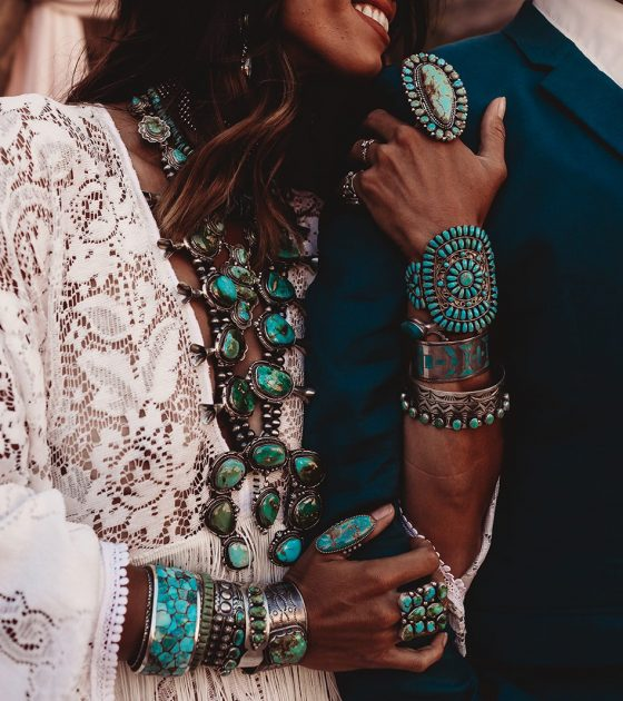 Turquoise Dreams Elopement Inspiration