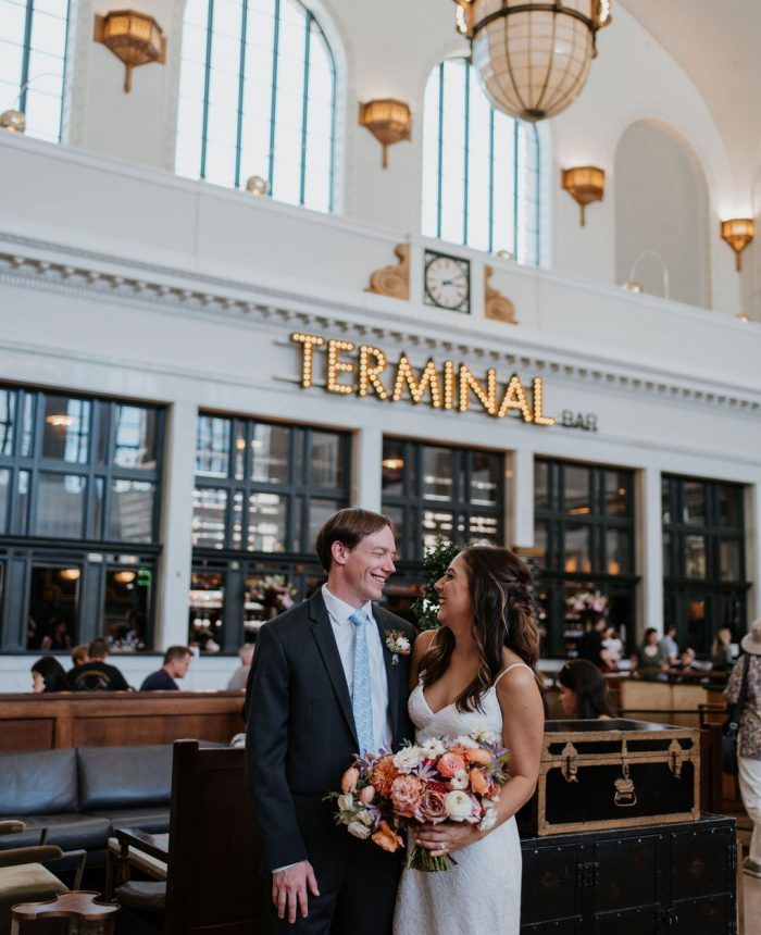 Urban Downtown Wedding at The Oxford Hotel