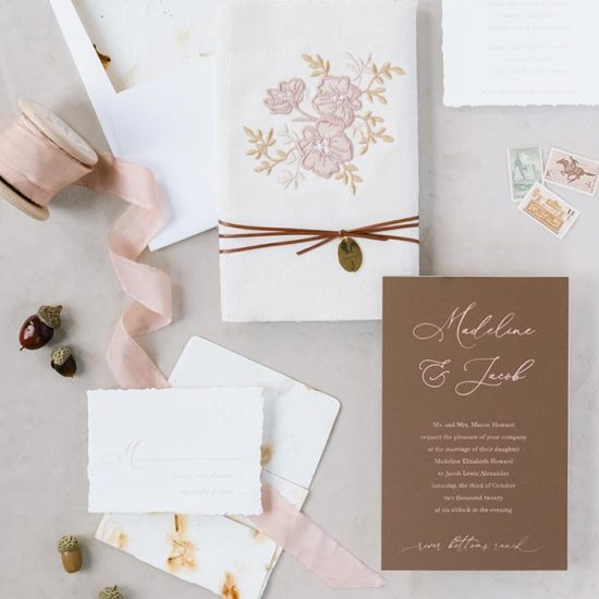 Wedding Invitations & Signage