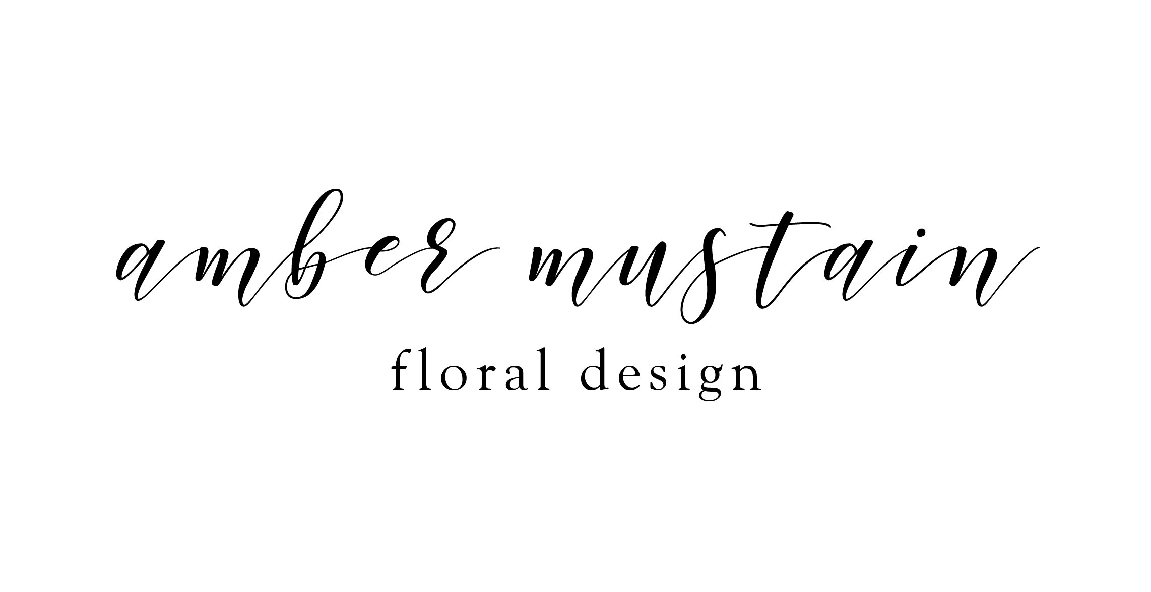 Amber Mustain Floral Design