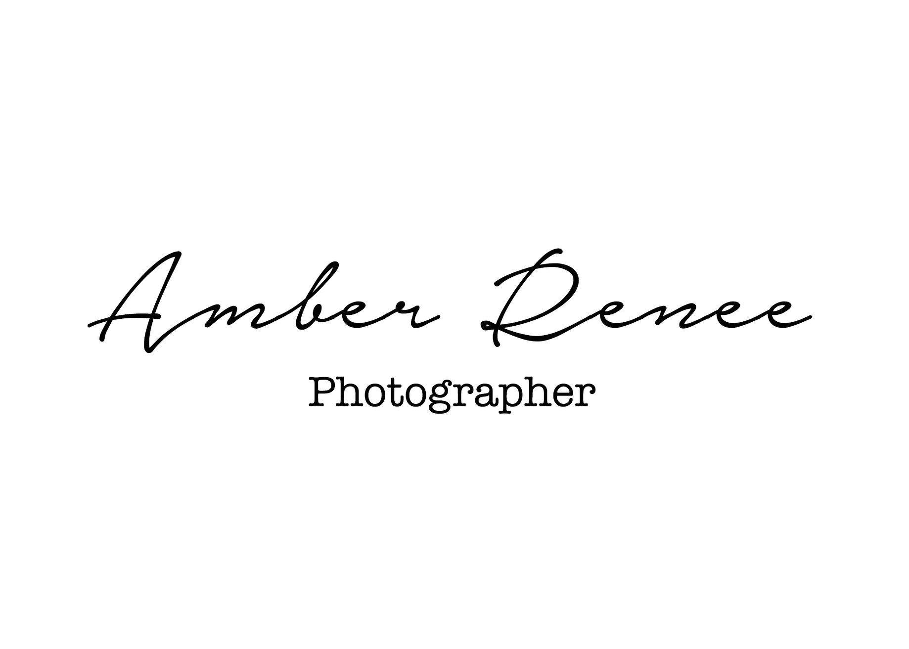 Amber Renee- Photographer
