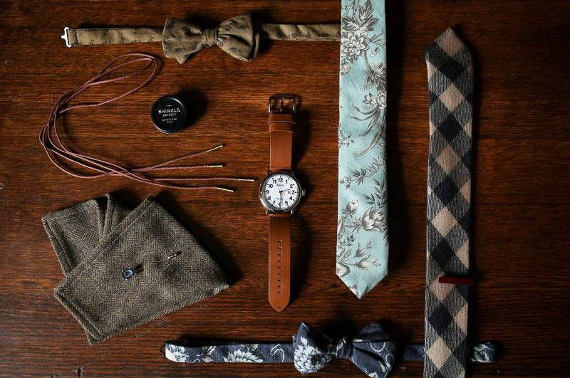 Flower Ties and Bow Ties
